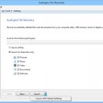 Auslogics Emergency Recovery S1