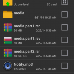 RAR for Android S4