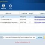نرم افزار PDF Password Remover