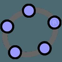 GeoGebra 6.0.581.0  نرم افزار ترسیم اشکال هندسی