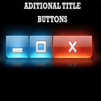 Actual Title Buttons 8.8.1 ویرایش پنجره های ویندوز