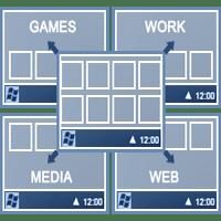 Actual Virtual Desktops 8.8.2 ایجاد بینهایت دسکتاپ مجازی