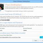 Chaos DesktopSync