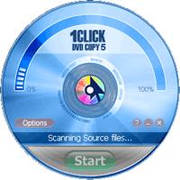 1CLICK DVD Copy 5.1.0.7 نرم افزار کپی فیلم های DVD