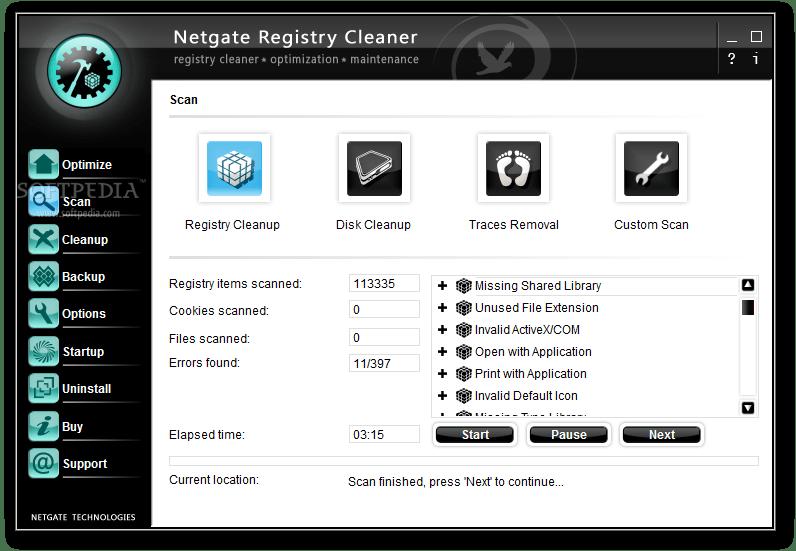 NETGATE Registry