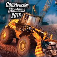 Construction Machines 2016 1.11 بازی شبیه سازی برای موبایل