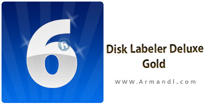 Disk Labeler Deluxe Gold
