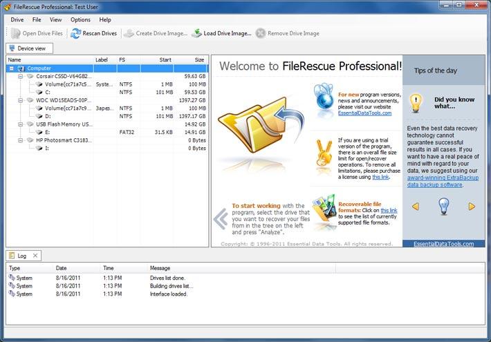 FileRescue-Professional