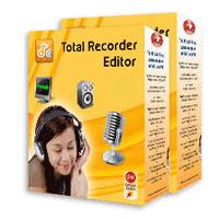 Total Recorder Editor 14.5.3 نرم افزار ضبط و ویرایش فایل های صوتی