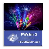 FWsim 2.3.2.6 نرم افزار ساخت نمایش آتش بازی