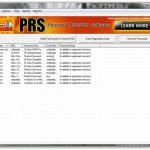 PRS Password Recovery