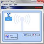 Toshiba Bluetooth Stack