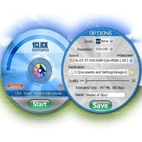 1CLICK DVDTOIPOD 2.2.2.1 تبدیل فرمت فیلم های دی وی دی به فایل های قابل استفاده در آی پد