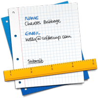 CoffeeCup Web Form Builder 1.1.3182 نرم افزار طراحی و ساخت فرم های اینترنتی