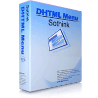 Sothink DHTML Menu 9.80 نرم افزار ساخت منو برای وب