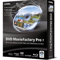 Corel DVD MovieFactory 7.0 نرم افزار ساخت و رایت انواع دی وی دی و دیسک های بلوری