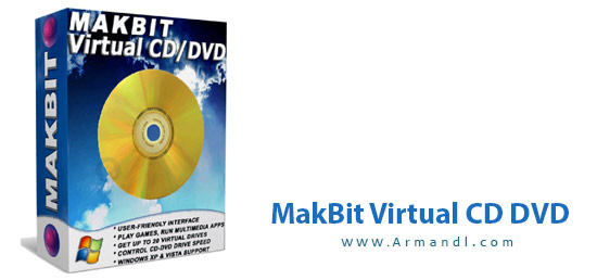 MakBit Virtual CD-DVD