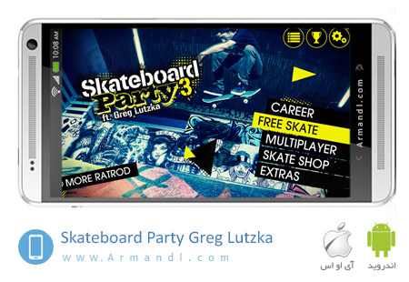 Skateboard Party 3 Greg Lutzka