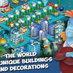 Aquapolis. Free city building