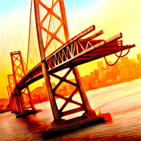 Bridge Construction Simulator 1.0.2 بازی شبیه سازی پلسازی برای موبایل