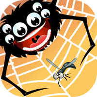 Feed the Spider 1.0.12 بازی پازل عالی تغذیه عنکبوتی برای موبایل