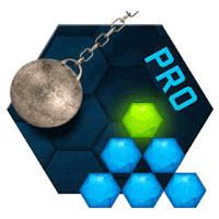Hexasmash Pro 1.03 بازی کم نظیر آونگ هگزا برای موبایل