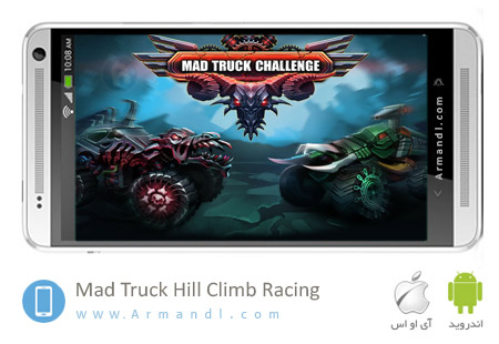 Mad Truck Hill Climb Racing