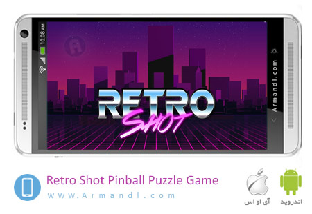 Retro Shot Pinball Puzzle Game