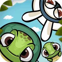 Roll Turtle 1.2 بازی پازل پلتفرمر لاک پشت چرخشی برای موبایل