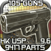 Gun Disassembly 2 12.2.0 بازی جداسازی قطعات تفنگ برای موبایل