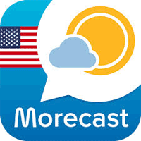 Morecast Weather & Meteo Radar 3.9.4 رادار پیش بینی آب و هوا برای موبایل
