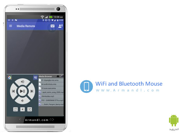 WiFi and Bluetooth Mouse