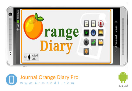 Journal Orange Diary