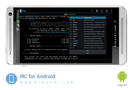 IRC for Android