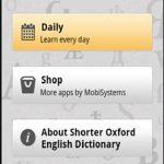 Oxford Shorter English Dict