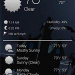 Recast Weather and Widgets