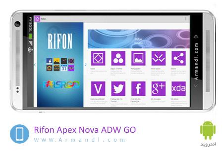 Rifon Apex Nova GO ADW Theme