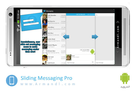 Sliding Messaging