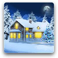Snow HD Deluxe 3.3.1 والپیپر واقعی بارش برف برای اندروید