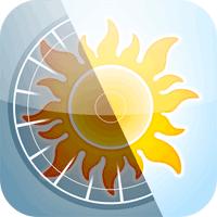Sun Surveyor Sun & Moon 2.4.6 نمایش موقعیت ماه و خورشید برای موبایل