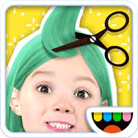 Toca Hair Salon Me 1.0 برنامه ی سالن آرایش مو برای موبایل