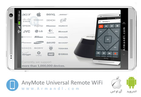 AnyMote Universal Remote WiFi Full