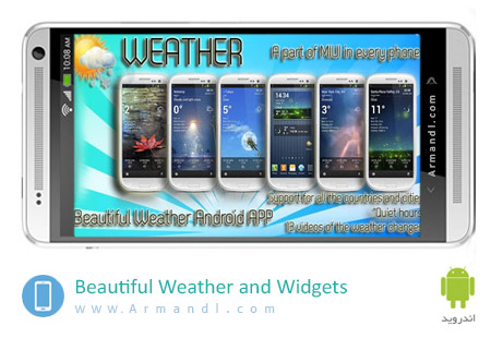 Beautiful Weather and Widgets