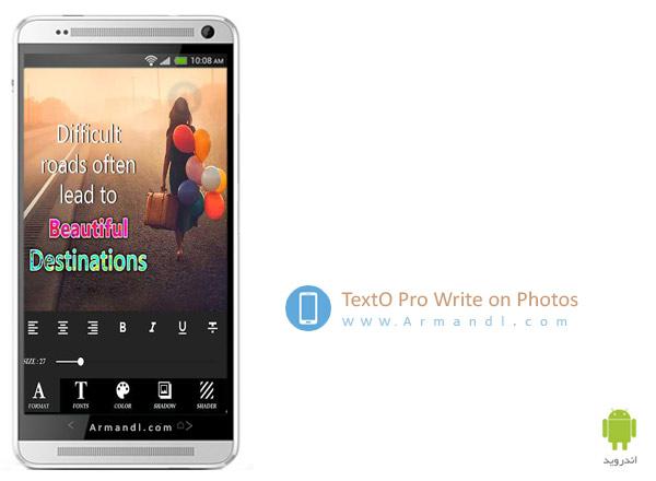 TextO Pro Write on Photos