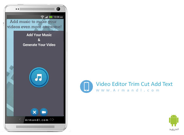 Video Editor Trim Cut Add Text