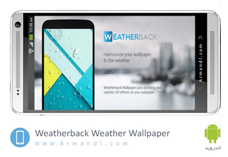 Weatherback Weather Wallpaper