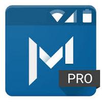 Material Status Bar 10.8 برنامه نوار وضعیت متریال برای اندروید