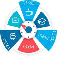S.Graph Calendar clock widget 5.2.9 برنامه ریزی گرافیکی روزانه برای اندروید