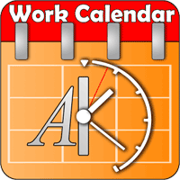 Work Calendar 5.0.10 برنامه کاربردی تقویم کاری برای اندروید