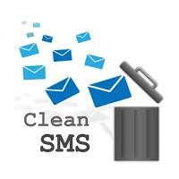CleanSMS Delete SPAM SMS 2.0 برنامه حذف گروهی پیام برای اندروید